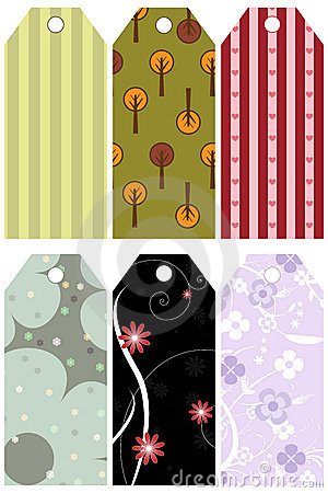 Patterned vector tag