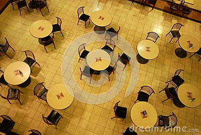 Patterns of dinning tables