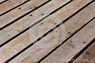 Patterns and textures of a wooden planks