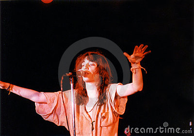 Patti Smith Editorial Stock Image