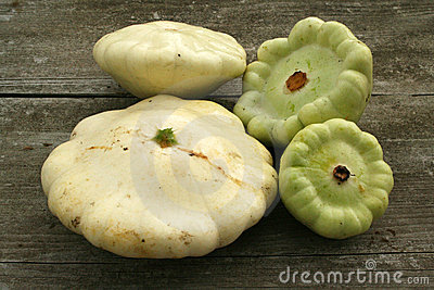 Patty pan squashes