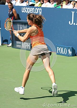 Patty Schnyder, Tennis Backhand Editorial Photo