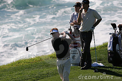 Paul Azinger, Pebble Beach 2006 Editorial Photography