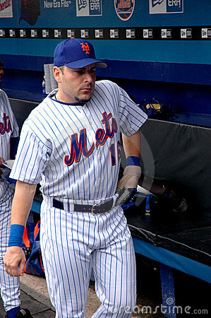 Paul Lo Duca New York Mets Editorial Image