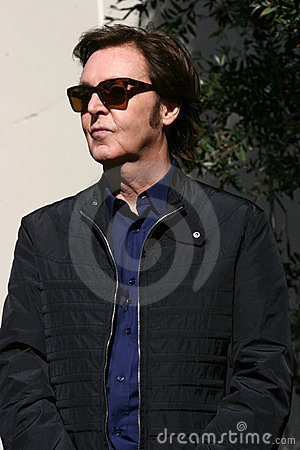 Paul Mccartney Editorial Stock Photo