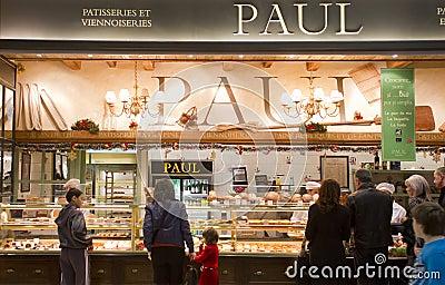 Paul Patisserie Editorial Stock Image