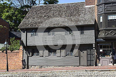 Paul Revere House Redactionele Foto