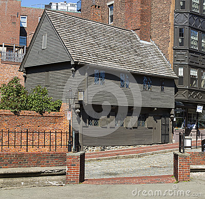 Paul Revere House Editorial Photo