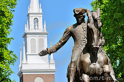 Paul Revere and Old North Church