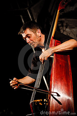 Paul Roges Trio on Jazz Koktebel Festival 2010 Editorial Photo