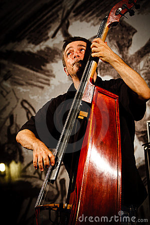 Paul Roges Trio on Jazz Koktebel Festival 2010 Editorial Stock Photo