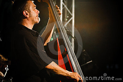 Paul Roges Trio on Jazz Koktebel Festival 2010 Editorial Image