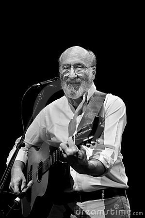 Paul Stookey at Concert Editorial Image
