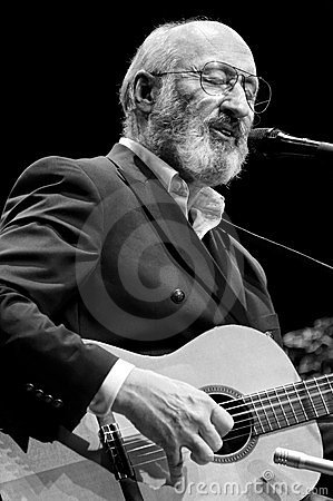 Paul Stookey Singing Editorial Image