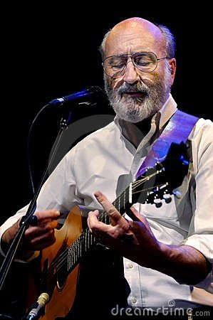 Paul Stookey on Stage Editorial Image