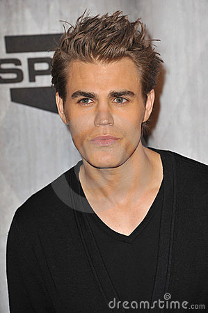 Paul Wesley Editorial Photo