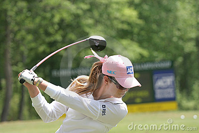 Paula Creamer, LPGA golf Tour, Stockbridge, 2006 Editorial Photography