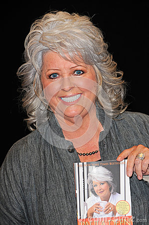Paula Dean at a personal appearance, Barens & Noble, Glendale, CA.  11-11-09 Editorial Stock Photo