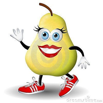 Paula Pear Running Healthy