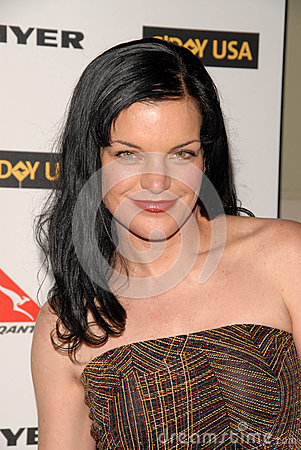 Pauley Perrette Editorial Stock Image