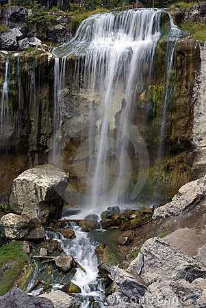 Free Paulina Creek Falls - Central Oregon Royalty Free Stock Photography - 10935057