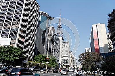 Paulista Avenue Sao Paulo