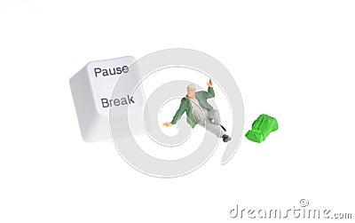 Pause key