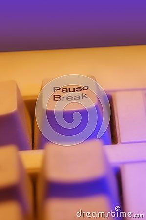 Pause - key