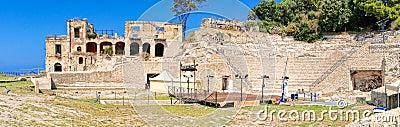 Pausylipon archeologic park in Naples