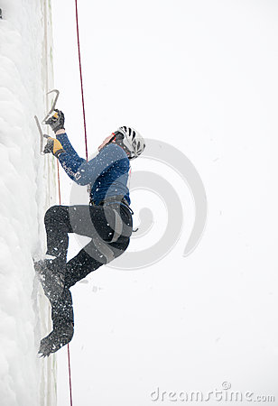 Pavel Batushev climbing Editorial Stock Image