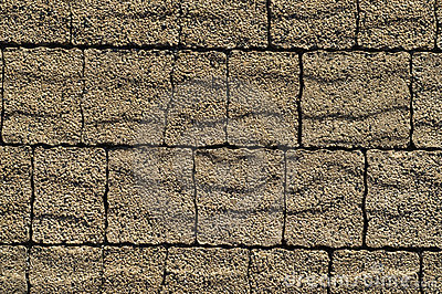 Pavement brown bricks texture