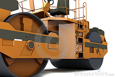 Paver machine