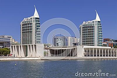 Pavilhao de Portugal - Sao Gabriel / Rafael Towers Editorial Image