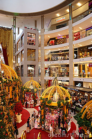 Pavilion Kuala Lumpur Editorial Image