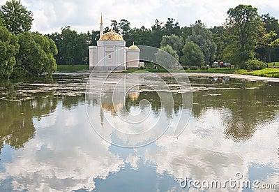 Pavilion Turkish bath.  Tsarskoe Selo. Russia