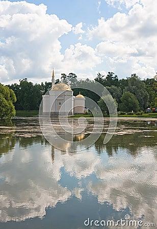 Pavilion Turkish bath. Tsarskoye Selo. Russia.