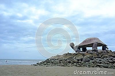 Pavilion turtle shape