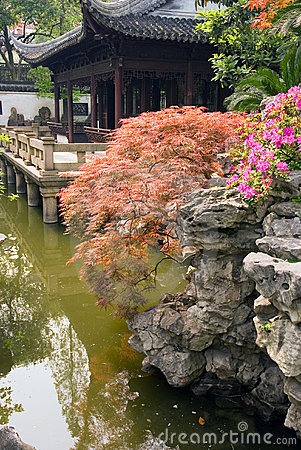 Pavilion at Yu Yuan Garden