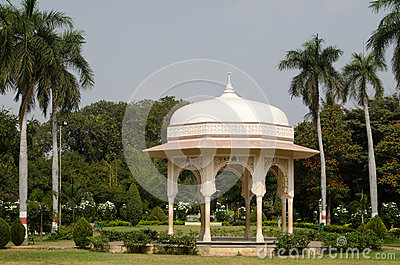 Pavillon, allgemeine Gärten, Hyderabad