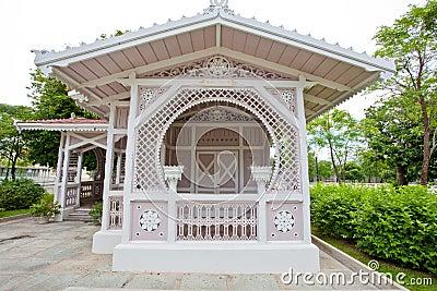 The pavillon housing