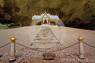 Pavillon in Phraya Nakorn cave