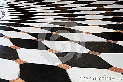 Pavimento in bianco e nero fotografie stock immagine for Pavimento bianco e nero