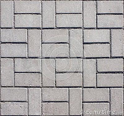 Pavimento concreto telhado do mosaico fotos de stock for Mosaico pavimento