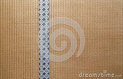 pavimento di tatami giapponese fotografia stock immagine