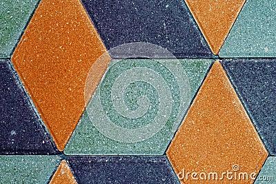 Types of stone paving