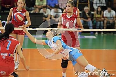 Pavla Vincourova - czech volleyball Editorial Stock Photo