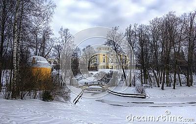 Pavlovsk, Saint - Petersburg, Russia