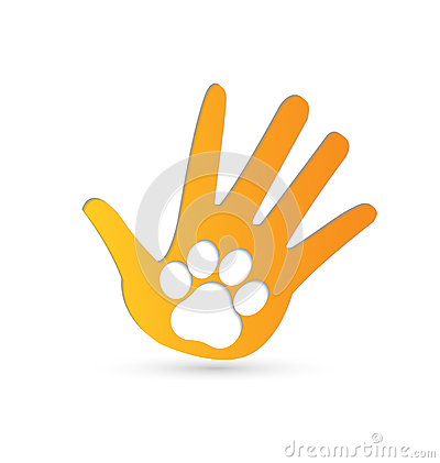 Free Paw On Hands Royalty Free Stock Image - 46408116