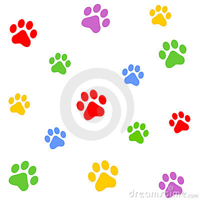 Free Paw Prints Stock Images - 5099254