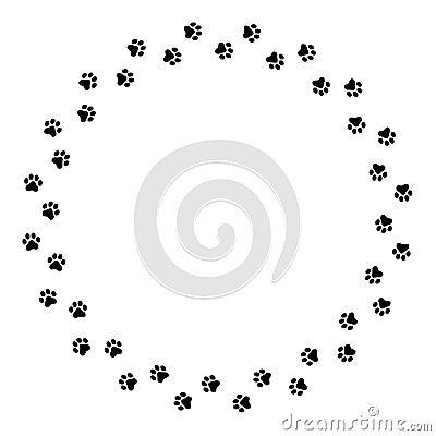 ... Dog Paw Print , Dog Bone , Dog Paw Print Clip Art , Realistic Dog Paw